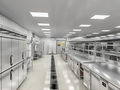 企事业单位厨房设备案例
